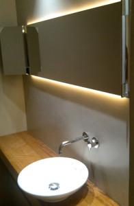 iluminación led baños